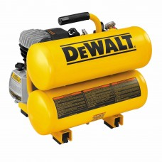 DeWalt D55153 1.1 HP Continuous 4 Gallon Electric Hand Carry Compressor