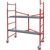 Metaltech BuildMan 6ft. Portable Scaffold, Model# I-BM6S