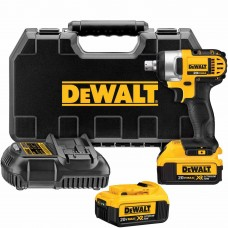 "DeWalt DCF880M2 20V MAX Lithium Ion 1/2"" Impact Wrench Kit with Detent Pin"