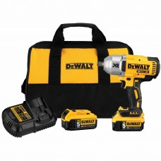 "DeWalt DCF899HP2 20v MAX XR Brushless 1/2"" Impact Wrench Kit w. Hog Ring"
