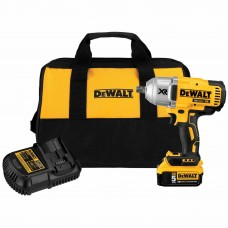 "DeWalt DCF899P1 20v MAX XR Brushless 1/2"" Impact Wrench Kit w. Detent Anvil"