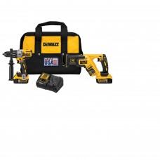 DeWalt DCK294P2 20 V MAX XR Hammerdrill and Reciprocating Saw Combo Kit