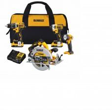 DeWalt DCK483D2 20V MAX XR Brushless Compact 4-Tool Combo Kit