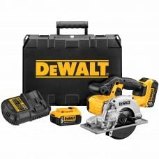 DeWalt DCS373P2 20V MAX Lithium-Ion Metal Cutting Circular Saw Kit (5.0 Ah)