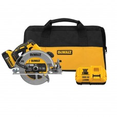 "DeWalt DCS570P1 7-1/4"" 20V MAX Cordless Circular Saw with Brake Kit"