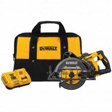 """DeWalt DCS577X1 Flexvolt 60V MAX 7-1/4"""" Cordless Worm Drive Style Saw (9.0Ah Battery)"""