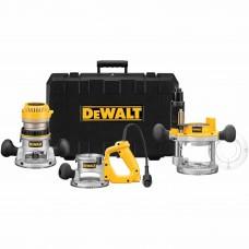 DeWalt DW618B3 2-1/4 HP Heavy-Duty Three Base Router Kit
