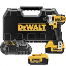 "Dewalt DCF885M2 20V MAX Lithium Ion 1/4"" Impact Driver Kit"