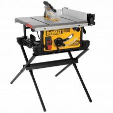 """Dewalt DWE7490X 10"""" Job Site Table saw with Scissor Stand"""