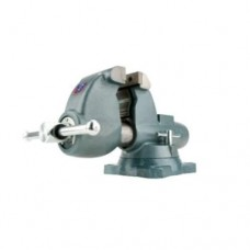 """Wilton 10225 C-1 Combination Pipe and Bench Vises - Swivel Base, 4-1/2"""" Jaw Width, 6"""" Jaw Opening, 4-3/4"""" Throat Depth"""
