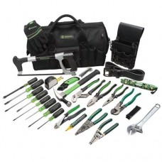Greenlee 0159-11 Master Electrician's Tool Kit, 28 Piece
