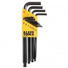 Klein BLK12 12-Piece L-Style Ball-End Hex-Key Caddy Set