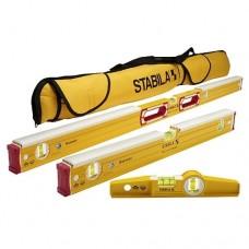 Stabila 48296 Mason 3 Level Set