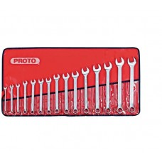 Proto J1200P-MASD 15 Pc. Metric Combination ASD Wrench Set - 12 Point