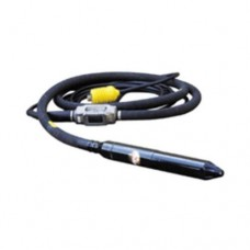 "MultiQuip FXA60A6 180 Hz High-cycle Concrete Vibrator w/2.375"" head, 20 ft hose, 33 ft cord,"