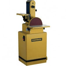 "Powermatic 1791291K 31A Belt/Disc Sander, 6""x48"" Belt, 1-1/2HP, Manual Switch"