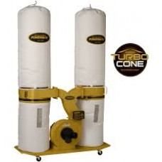 Powermatic 1792073K PM1900TX-BK3 Dust Collector, 30-Micron Bag Filter Kit, 3HP