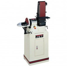 "Jet 708597K JSG-96CS 6""x48"" Belt / 9"" Disc Sander W Closed Stand - 3/4HP 1Ph 115V"