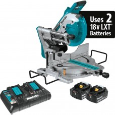 "Makita XSL06PT 18V X2 LXT (36V) 10"" Dual-Bevel Sliding Compound Miter Saw"