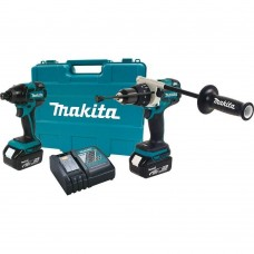 Makita XT257TB 18V LXT Li-Ion Brushless Cordless 2-Piece Combo Kit