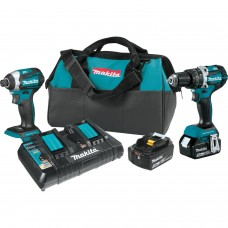 Makita XT275PT 18V LXT Li-Ion Brushless Cordless 2-Pc. Combo Kit