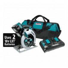 "Makita XSH01PT 18V X2 LXT Li-Ion 36V Cordless 7-1/4"" Circular Saw Kit 5.0Ah"