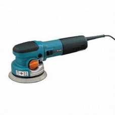 "Makita BO6040 6"" Random Orbit Sander, 6.6 AMP, 1,600-5,800 OPM, var. spd., 2-mode selector"