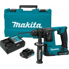 Makita RH02R1 12V Max CXT Li-Ion Cordless 9/16 In. Rotary Hammer Kit