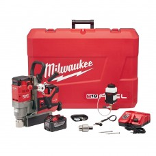 "Milwaukee 2788-22HD M18 FUEL 1-1/2"" Lineman Magnetic Drill HIGH DEMAND Kit"