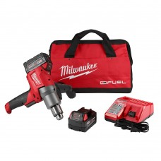 Milwaukee 2810-22 M18 FUEL Mud Mixer with 180° Handle Kit