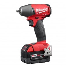 "Milwaukee 2754-22 M18 FUEL Cordless Li-Ion 3/8"" Compact Impact Wrench Tool Kit"