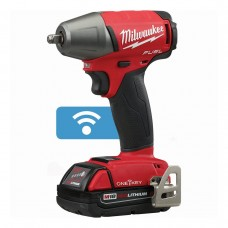 """Milwaukee 2758-22CT M18 FUEL 3/8"""" Compact Impact Wrench with Friction Ring with ONE-KEY Kit"""