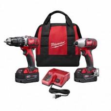 Milwaukee 2697-22 M18 Cordless 2-Tool Combo Kit
