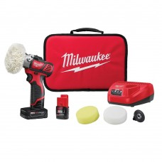 Milwaukee 2438-22X M12 Variable Speed Polisher/Sander Kit with XC Battery