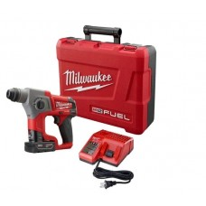 "Milwaukee 2416-21XC M12 FUEL 5/8"" SDS Plus Rotary Hammer Kit with 1 Battery"