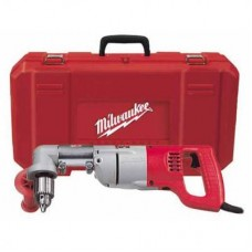 "Milwaukee 3102-6 1/2"" D-Handle Right Angle Drill Kit"