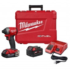 "Milwaukee 2853-22CT M18 FUEL 1/4"" Hex Impact Driver CP Kit"