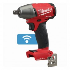 "Milwaukee 2759-20 M18 FUEL 1/2"" Compact Impact Wrench with Pin Detent with ONE-KEY (Bare Tool)"