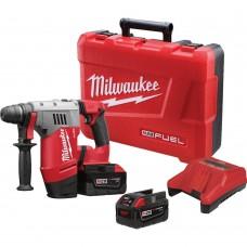 """Milwaukee 0757-22 M28 Fuel 1-1/8"""" SDS Plus Rotary Hammer Kit"""