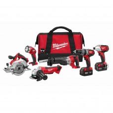 Milwaukee 2696-26 M18™ 6 - Tool Combo Kit