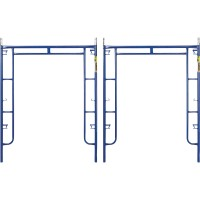 Metaltech 4,900-Lb. Capacity Arch Scaffold Frames — 2-Pk., 6ft. x 5ft.