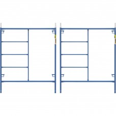 Metaltech Saferstack 6ft. x 5ft. Mason Frame — 2-Pack, Model# M-MF7260PSK2