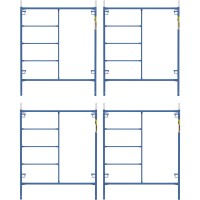 Metaltech Saferstack 6ft. x 5ft. Mason Frame — 4-Pack, Model# M-MF7260PSK4