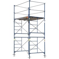 Metaltech Saferstack 5ft. x 7ft. x 10ft. Fixed Scaffold Tower Kit — Model# M-MFT5710