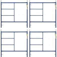 Metaltech Saferstack 5ft. x 5ft. Mason Frame — 4-Pack, Model# M-MF6060APSK4