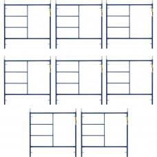 Metaltech Saferstack 5ft. x 5ft. Mason Frame — 8-Pack, Model# M-MF6060APSK8