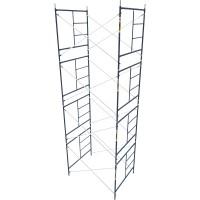 Metaltech Saferstack 5ft. x 5ft. x 7ft. Mason Frame Set of 4— Model# M-MFS606084AK4