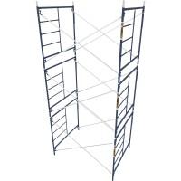 Metaltech Saferstack 5ft. x 5ft. x 7ft. Mason Frame — Set of 3, Model# M-MFS606084K3
