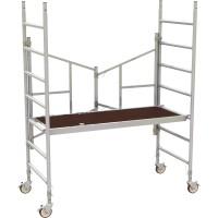 Metaltech 6ft. Easy-Set Aluminum Scaffold Tower — 800-Lb. Capacity, Model# AL-Q0100