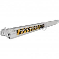 Metaltech 7ft. Aluminum Tie-Off Bar
